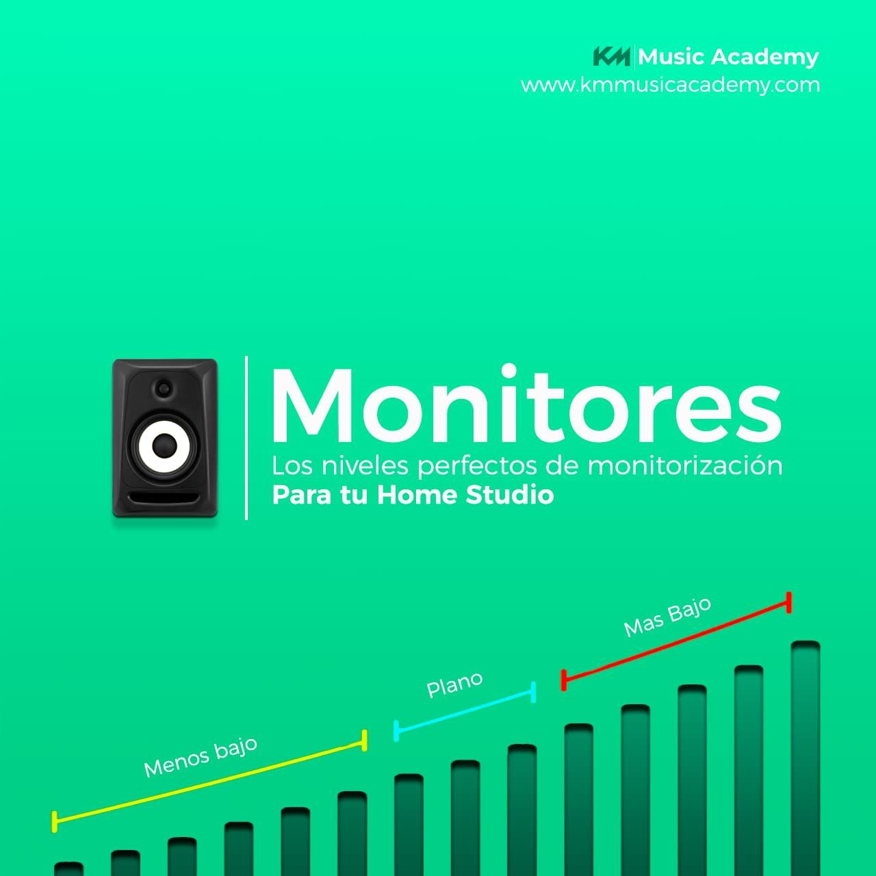 como calibrar monitores de estudio